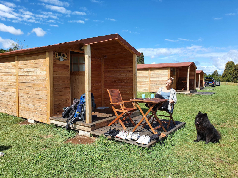 Glamping Slowenien: Camp the sunrise hill